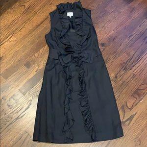 Millly black dress ruffles 8